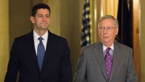 Paul Ryan, Mitch McConnell & GOP Oppose Trump Proposed Tariffs