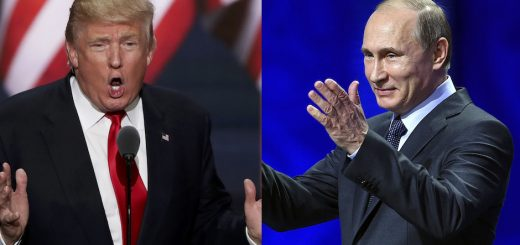 Donald Trump At War With Everyone - Except Russia. Why?