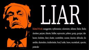 Donald Trump: Liar In Chief!