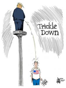 Trump GOP Triples Down On Trickle Down Economics