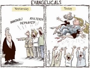 The Hypocrisy Of Trump Evangelical Voters