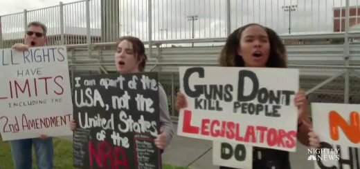 Students protest government inaction on unchecked gun violence