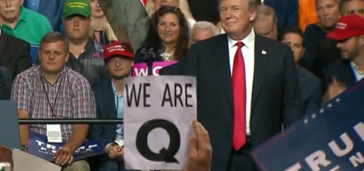 Q Conspiracy Theorists Embrace Trump